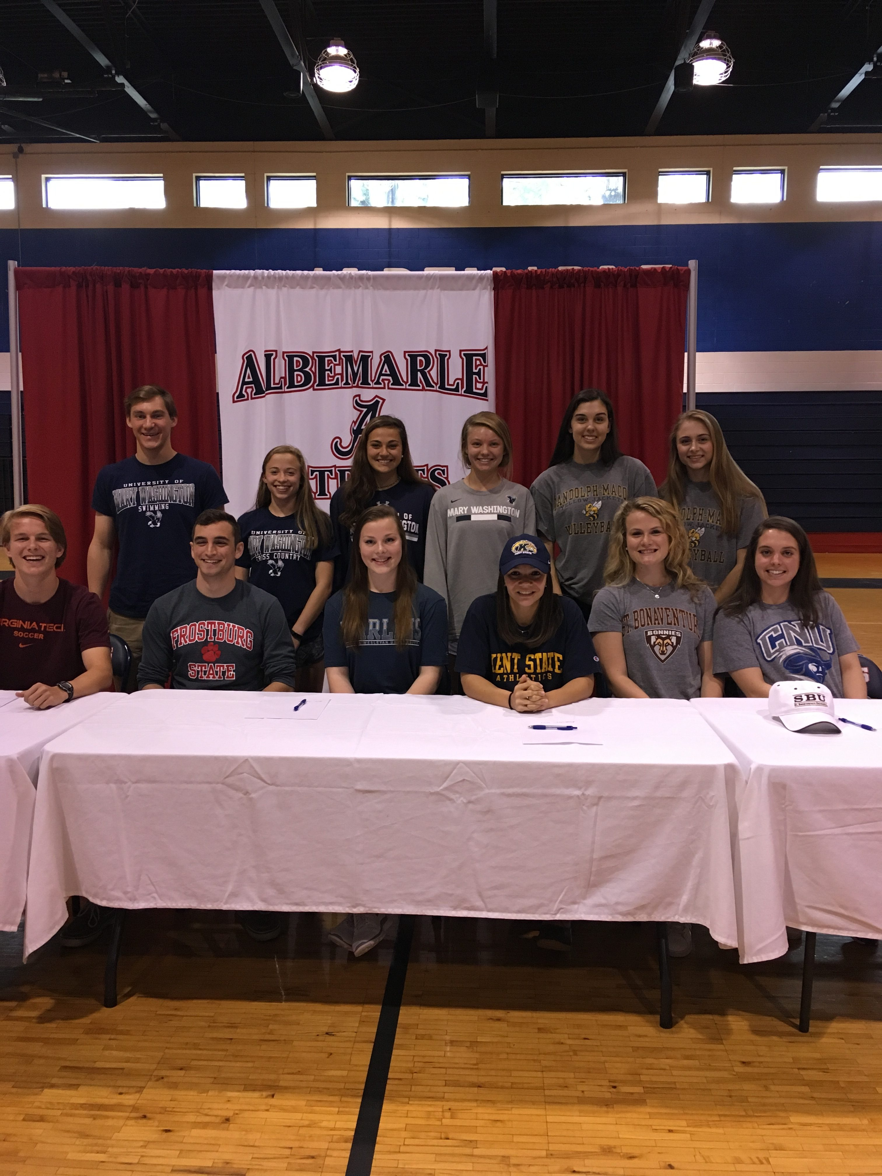 12 Patriots commit to playing at the Collegiate Level