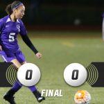 Girls Soccer Battles to 0-0 Tie