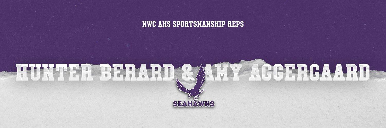 2020-21 Northwest Conference AHS Sportsmanship Representatives