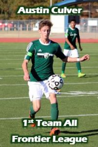 Frontier League Soccer Honors