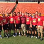 DHS Football Assists at the Chiefs Fantasy Camp