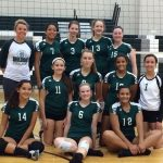 C Team Volleyball Takes 3rd Place