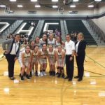De Soto High School Girls Varsity Basketball beat Kansas City East 81-22