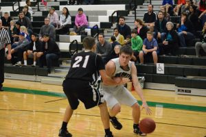Varsity Boys Basketball vs. Bishop Ward on 12/12/15
