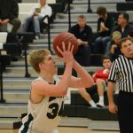 De Soto High School Boys Varsity Basketball falls to Spring Hill High School 31-41