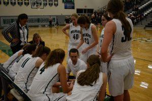 Varsity Girls Basketball vs. Kansas City East on 12/12/15