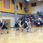 De Soto High School Boys Varsity Basketball falls to Paola High School 38-67