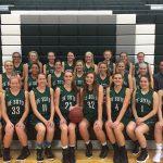 De Soto High School Girls Varsity Basketball beat Eudora High School 54-22