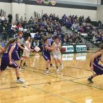 De Soto High School Girls Varsity Basketball beat Louisburg High School 50-29