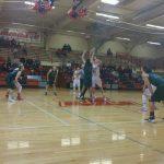 De Soto High School Boys Varsity Basketball falls to Wamego High School 49-63