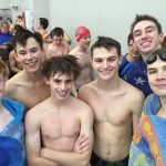 De Soto High School Boys Varsity Swimming finishes 4th place