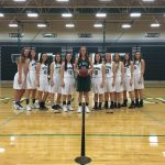 De Soto High School Girls Varsity Basketball falls to Baldwin High School 50-53