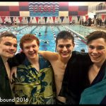 De Soto High School Boys Varsity Swimming finishes 5th place