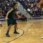 De Soto High School Boys Varsity Basketball falls to Spring Hill High School 48-50