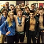 Boys Varsity Swimming Finishes 3rd at League