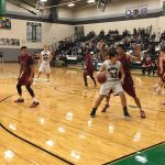 De Soto High School Boys Varsity Basketball falls to Eudora High School 50-66