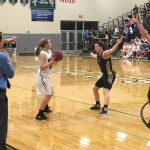 De Soto High School Girls Varsity Basketball falls to Paola High School 36-51