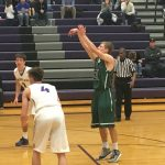 De Soto High School Boys Varsity Basketball beat Louisburg High School 66-62