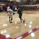 De Soto High School Boys Varsity Basketball falls to Eudora High School 47-67