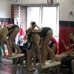 Girls Varsity Swimming Finishes 6th Place at SMN