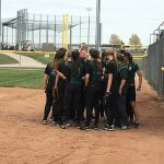 De Soto High School Varsity Softball beat Bonner Springs High School 9-3