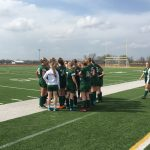 De Soto High School Girls Varsity Soccer beat Basehor-Linwood High School 4-0