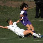 De Soto High School Girls Varsity Soccer beat Baldwin High School 1-0