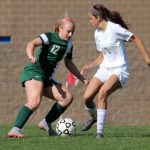 De Soto High School Girls Varsity Soccer ties Spring Hill High School 1-1