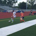 De Soto High School Girls Varsity Soccer beat Bonner Springs High School 3-0