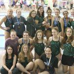Girls Swim Finishes Season at State