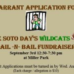 Quarterback Club – Jail-N-Bail Fundraiser