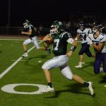 De Soto Football falls to Louisburg High School 17-31