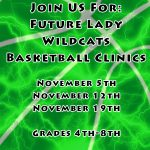 Future Lady Wildcats Basketball Clinics