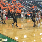 De Soto High School Boys Varsity Basketball falls to Paola High School 47-39