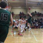 De Soto High School Boys Varsity Basketball falls to Wamego High School 55-46