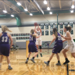 De Soto High School Girls Varsity Basketball falls to Pittsburg High School 39-34