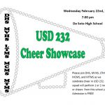 USD 232 Cheer Showcase