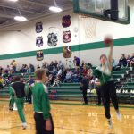De Soto High School Boys Varsity Basketball falls to Spring Hill High School 62-38