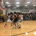 De Soto High School Boys Varsity Basketball falls to Paola High School 61-53