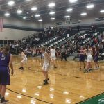 De Soto High School Girls Varsity Basketball beat Baldwin High School 58-51