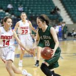 De Soto High School Girls Varsity Basketball falls to Maize High School 51-17