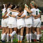 Girls Varsity Soccer beat Basehor-Linwood High School 4-0