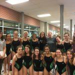 Girls Swim Team continues to drop time at Turner Swim Meet