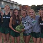 Girls XC takes 1st at Miege