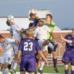 De Soto High School Boys Varsity Soccer beat Louisburg High School 2-0