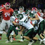 De Soto High School Varsity Football falls to Bishop Miege High School 31-0