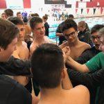 Boys Swimming Begins Season at Lansing Relays