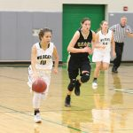 Girls Varsity Basketball beats Turner 72 – 12