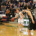 Boys Varsity Basketball beats Blue Valley Southwest 58 – 51
