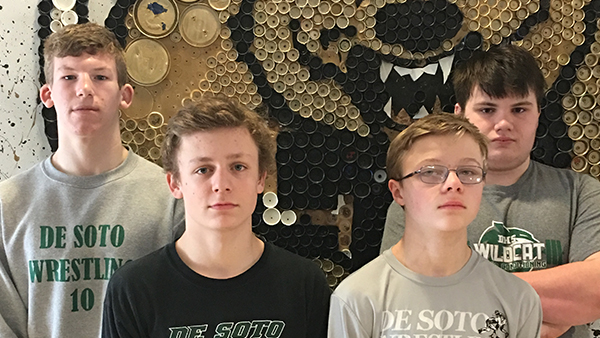 Four Wildcat Wrestlers Qualify for State